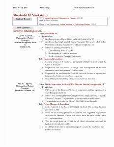 Academic Resume Template for Grad School - Best Resume Templates for Graduate School