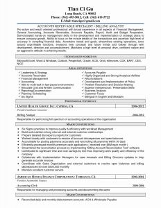 Account Payable Resume Template - Sample Resume for Accounts Payable Specialist Inspirational Accounts