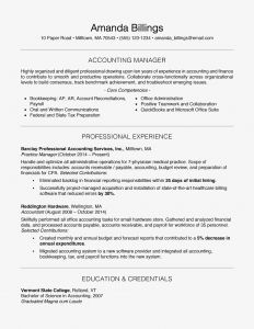 Accounts Receivable Resume Template - 100 Free Professional Resume Examples and Writing Tips