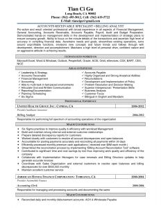 Accounts Receivable Resume Template - Accounts Receivable Resume Templates Best Accounts Receivable Resume