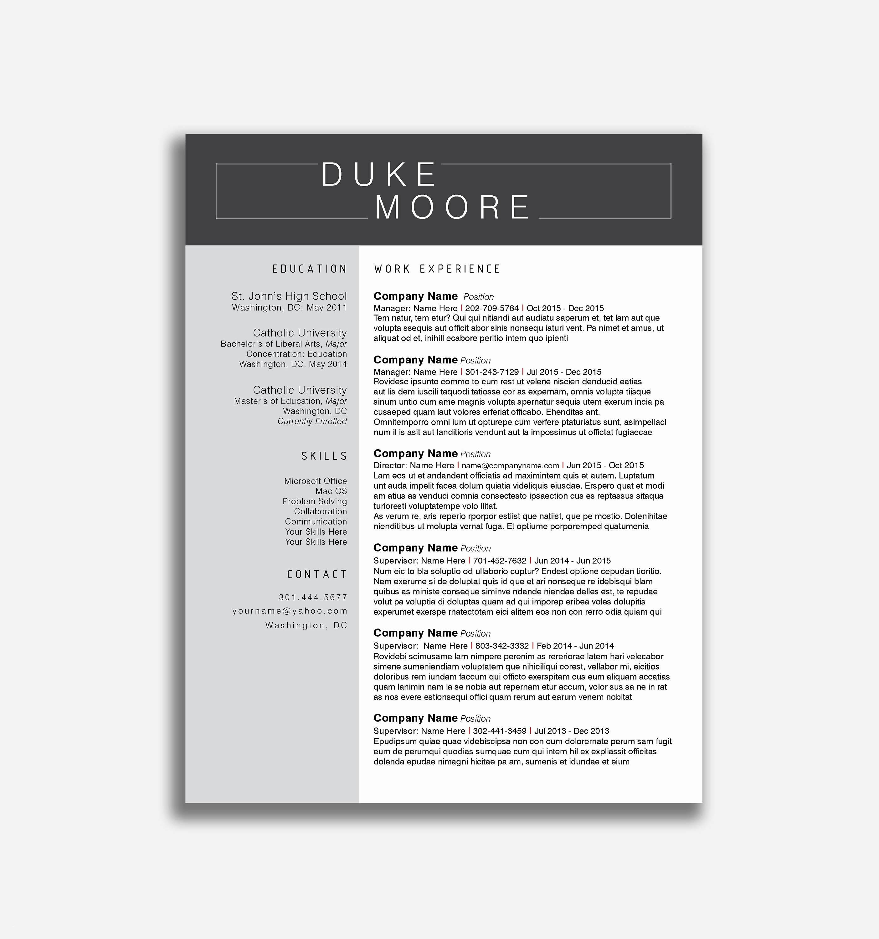 12 Acting Resume Template 2017 Collection