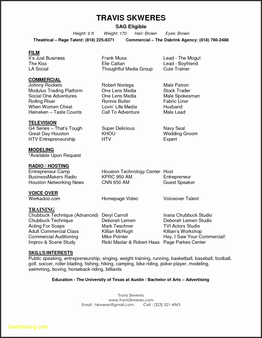 acting resume template google docs Collection-Google Docs Acting Resume Template Resume Templates Actors Resume Template Acting Resume Templates 10-d