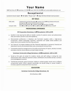 Angularjs Resume Template - Consulting Resume Template Awesome Resume Mail format Sample Fresh