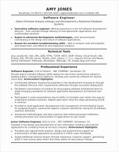 Apache Resume Template - 15 Effective Resume Samples