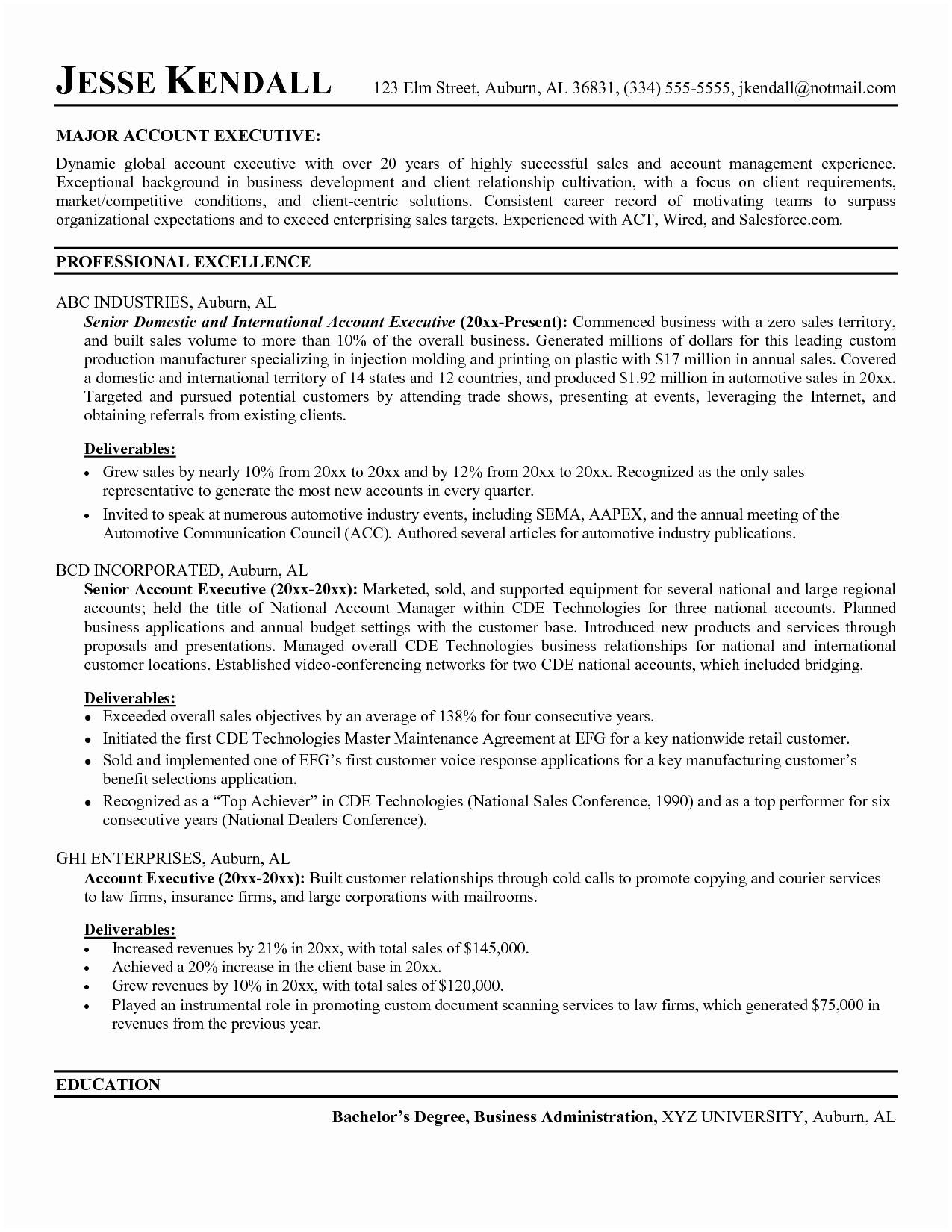 auburn resume template Collection-Resume format Accounts Executive Best Resume Template for Management New Painter Resume 0d 9-b
