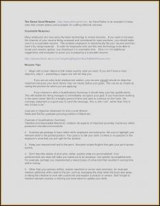 Auto Mechanic Resume Template - Resume format for Mechanical New Sample Resume for Automotive