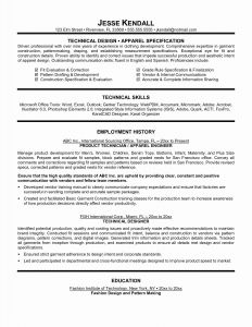 Automotive Technician Resume Template - 25 Unique Automotive Technician Resume
