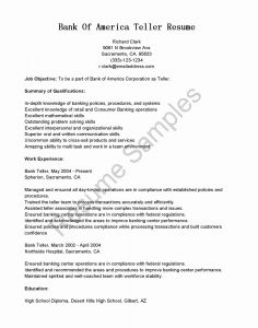 Banker Resume Template - Things to Include A Resume Fresh I Banking Resume Template