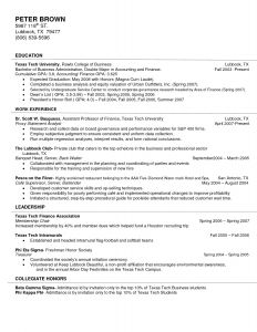Bartending Resume Template - 49 Fresh Bartender Resume Template