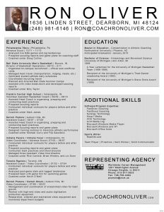 Basketball Coach Resume Template - Resume Coaching Letter Of Interest for Basketball Coaching Position