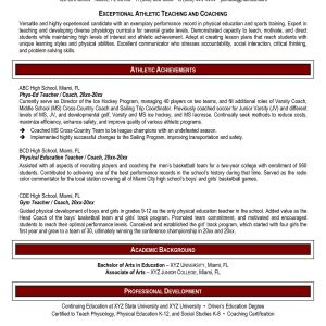 Basketball Resume Template for Player - High School Student Resume Templates Free Beautiful Best Resume for