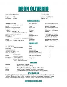 Beginner Actor Resume Template - Musical theatre Resume Luxury 50 Inspirational theatre Resume