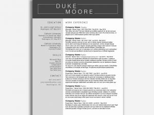 Best Resume Template Google Docs - Resume Templates Google Docs In English Free Downloads Resume