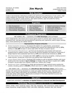 Best Resume Template Reddit - Resume Web Developer Resume Sample Monster Pertaining Examples