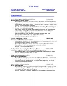 Best Sales Resume Template - 49 Best Sales Resume Example