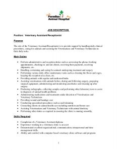 Byu Marriott School Resume Template - Resume Examples Veterinary Receptionist Resume Examples