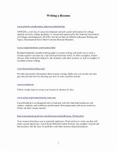 Career Builder Resume Template - Resume Cover Letter Builder Inspirational Career Builder Resume