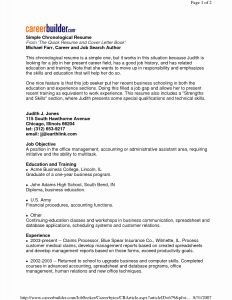 Career Builder Resume Template - Career Builder Resume Template Cna Resume Templates Awesome Cover