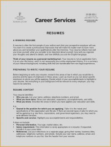 Career Cruising Resume Template - Types Business Picture Type A Resume Beautiful New Entry Level