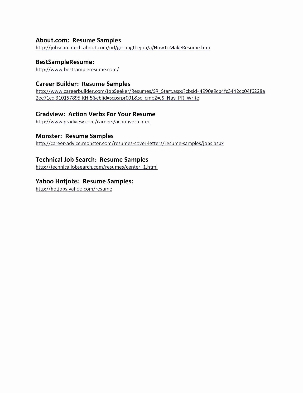 careerbuilder free resume template Collection-Career Builder Resume Best Professional Resume Template Free Awesome Job Resume Sample Unique 16-s