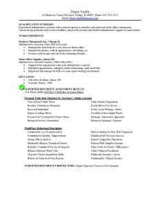 Certified Medical assistant Resume Template - Awesome Sample Resume for Administrative assistant at Medical Fice