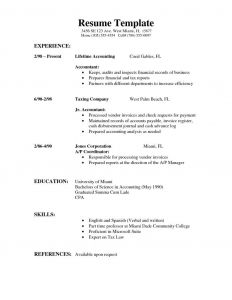 Chronological Resume Template Pdf - Sample Job Resume format Mr Sample Resume Best Simple format