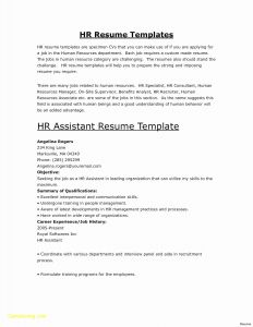 Church Resume Template - 30 Make A Quick Resume