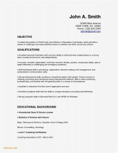 Coaching Resume Template - Educational Resume Example Fwtrack Fwtrack