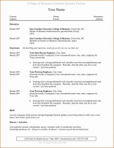 College athletic Resume Template - 42 New Sports Resume format Resume Templates Ideas 2018 Resume