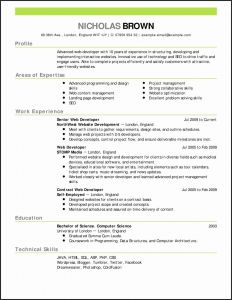 College athletic Resume Template - College Student Resume Templates – Aurorafilm