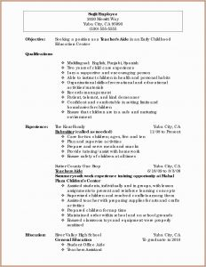 Combined Resume Template - 16 Lovely Bination Resume Examples Land Of Template