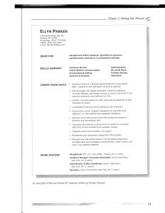 Communications Resume Template - 37 Concepts Model Resume Template