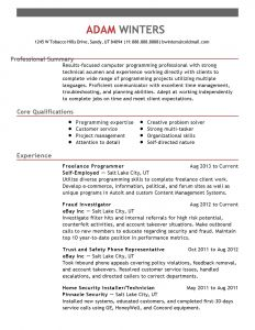 Computer Technician Resume Template - 40 Standard Build A Free Resume