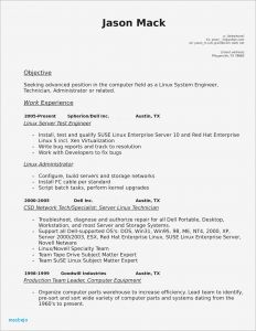 Computer Technician Resume Template - Pharmacy Tech Resume Pharmacy Tech Resume Template Fresh Obama