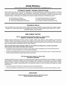 Construction Resume Template Free - Construction Resume Template Inspirational Resume Examples 0d Skills