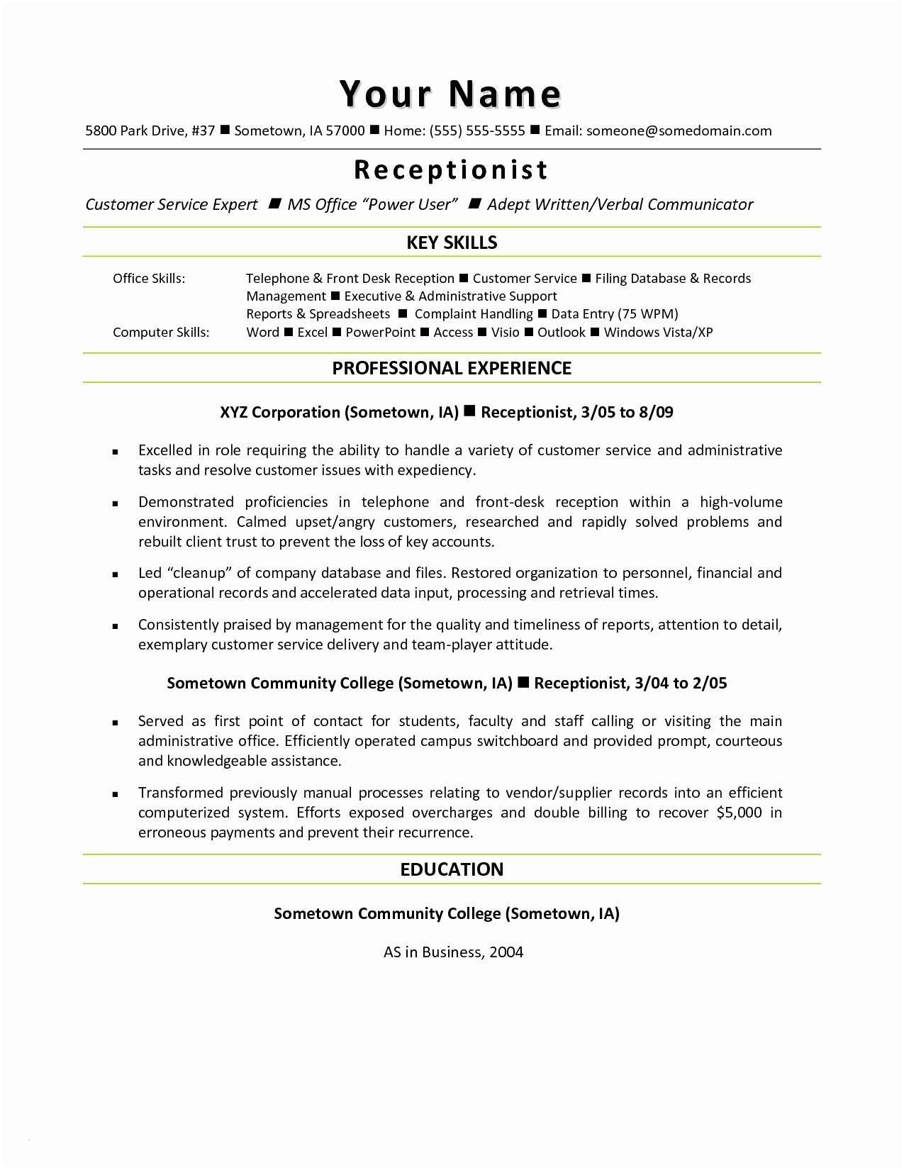 consultant resume template example-Consulting Resume Template Awesome Resume Mail format Sample Fresh Beautiful Od Consultant Cover Letter 6-k