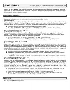 Correctional Officer Resume Template - Correctional Ficer Job Description Resume Luxury Fresh Customer
