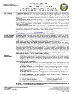 Correctional Officer Resume Template - Resume for Correctional Ficer Position Awesome Perfect