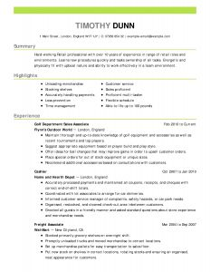 Correctional Officer Resume Template - 37 Concepts Nice Resume Templates