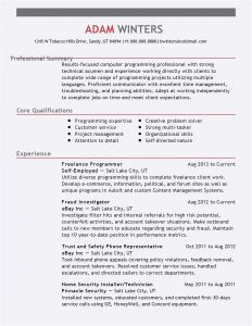 Customer Service Resume Template Free - Ebay Vorlagen
