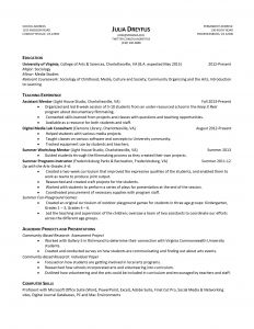 Dance Resume Template Free - 48 Inspirational Teacher Resume Example