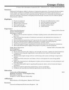 Data Scientist Resume Template - 19 Fresh Data Scientist Resume Sample Land Of Template