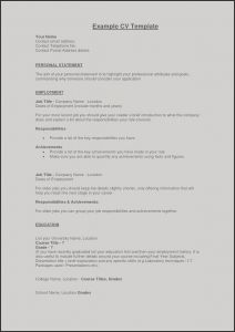 Dating Resume Template - Resume for My First Job Unique Example Perfect Resume Fresh Examples