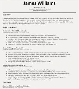 Dental Resume Template - How to Make A Good Cover Letter New How to Write A Cover Letter for