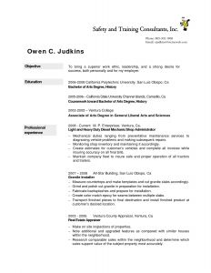 Diesel Mechanic Resume Template - 47 New Auto Mechanic Resume