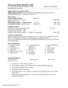 Early Childhood Education Resume Template - Inspirational Early Childhood Education Resume