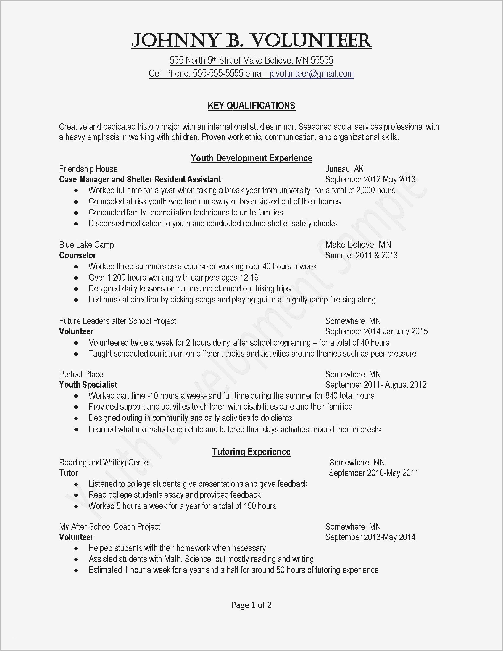 12 early childhood education resume template samples