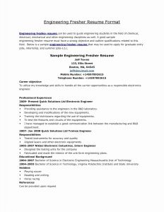Electrical Engineer Resume Template - Electrical Engineering Resume Elegant 20 Electrical Engineer Resume