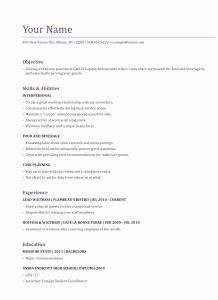 Emt Resume Template - Resume In Spanish Unique Best Examples Resumes Ecologist Resume 0d