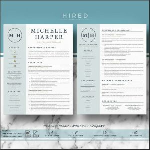 Etsy Resume Template - Modern Resume Templates Best Design Resume Templates Etsy Resume